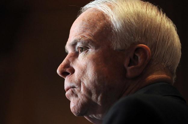 McCain zmarł w wieku 81 lat /ASTRID RIECKEN   /PAP/EPA