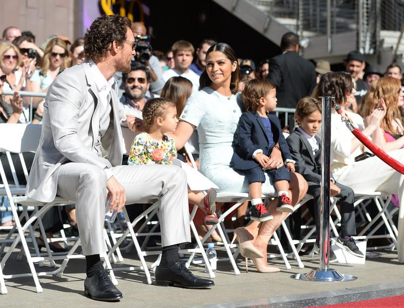 McConaughey i Alves mają troje dzieci /Jason Merritt /Getty Images