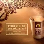 McDonald's częstuje poranną kawą, całkiem za darmo!