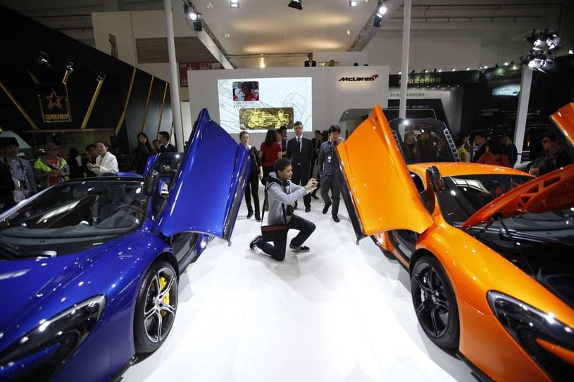 McLaren zamierza znacząco wzmocnić sprzedaż /AFP