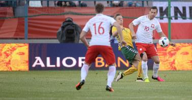ME 2016: Słaby mecz polskich piłkarzy w Krakowie. Zremisowali z Litwą 0:0