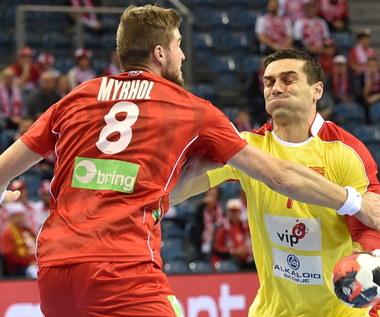 ME piłkarzy ręcznych: Macedonia - Norwegia 31-31