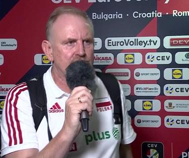 ME siatkarek. Jacek Nawrocki wypowiedział się na temat swojej przyszłości. WIDEO (Polsat Sport)