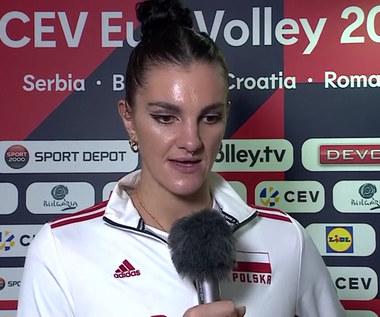 ME siatkarek. Malwina Smarzek: Cieszę się, że odpadłyśmy z tak mocną Turcją. WIDEO (Polsat Sport)