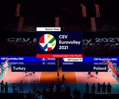 ME siatkarek. Turcja - Polska 3:0 - skrót meczu. WIDEO