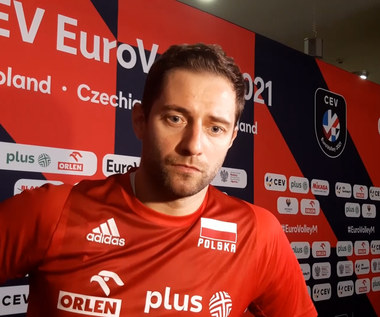 ME siatkarzy 2021. Grzegorz Łomacz: Słoweńcy są wspaniałą drużyną, pokazali to dzisiaj na boisku. Wideo