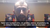 ME siatkarzy 2021. Luca Galassi po meczach półfinałowych. Wideo