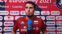 ME siatkarzy 2021. Polska – Słowenia. Fabian Drzyzga: Kluczowy był drugi set (POLSAT SPORT). Wideo