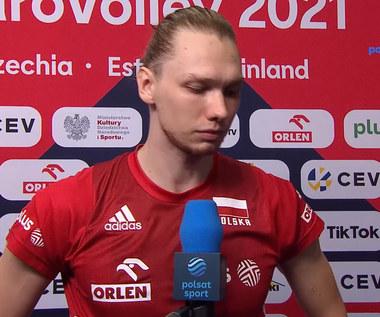 ME siatkarzy 2021. Polska – Słowenia. Jakub Kochanowski: Powoli myśleliśmy, że doprowadzimy do tie-breaka (POLSAT SPORT). Wideo