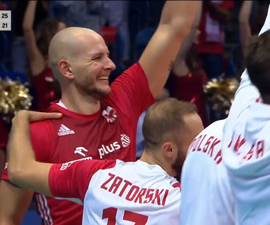 ME siatkarzy: Bartosz Kurek asem serwisowym kończy mecz Polska - Ukraina (POLSAT SPORT) Wideo