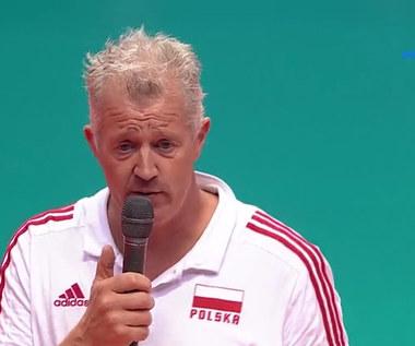 ME siatkarzy: Vital Heynen wygłosił przemówienie w języku polskim! Pożegnał się z kibicami (POLSAT SPORT) Wideo