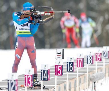 ME w biathlonie. Aleksander Łoginow zdobył złoty medal w Dusznikach-Zdroju