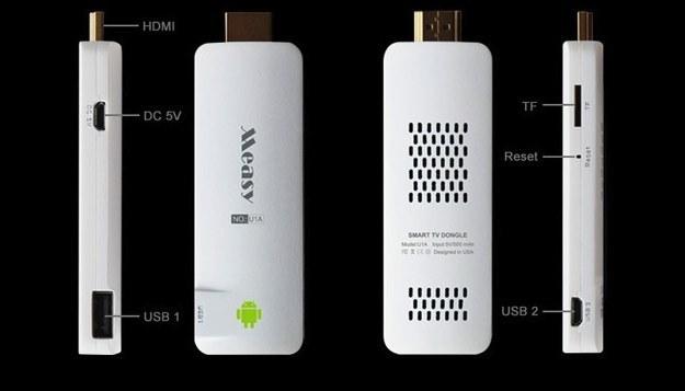 Measy U1A - zamiast telewizora ze Smart TV /materiały prasowe