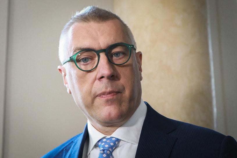 Mec. Roman Giertych /Tomasz Jastrzebowski/REPORTER /Reporter
