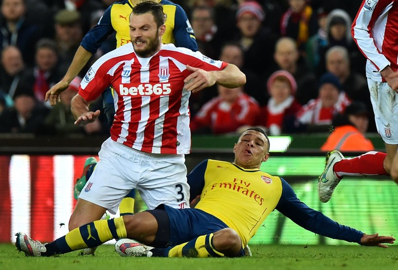 Mec Stoke - Arsenal /AFP
