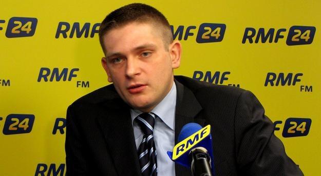 Mecenas Bartosz Kownacki /RMF