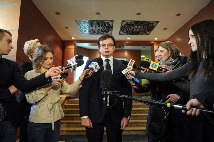 Mecenas Jarosław Kaczyński (C) /Marcin Obara /PAP