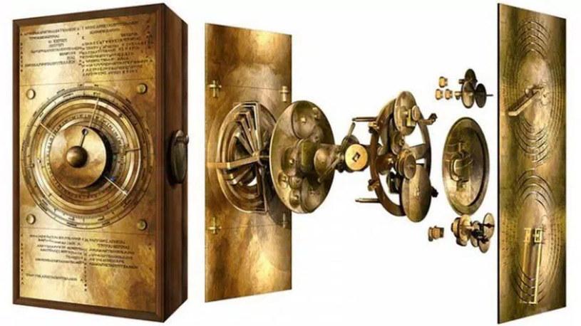 Mechanizm z Antykithiry /materiały prasowe
