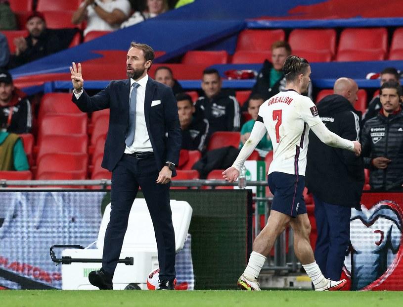 Mecz Anglia - Węgry w eliminacjach MŚ 2022 w Katarze /ZUMA /Newspix