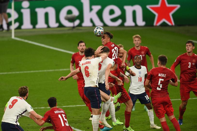 Mecz Anglii z Danią na Euro 2020 /AFLO/NEWSPIX.PL /Newspix