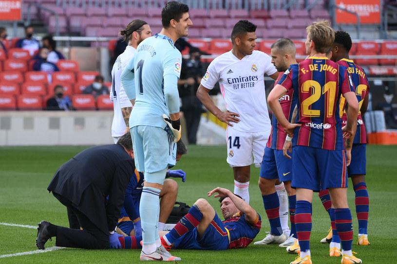 Mecz Barcelony i Realu na Camp Nou /LLUIS GENE/ AFP  /East News