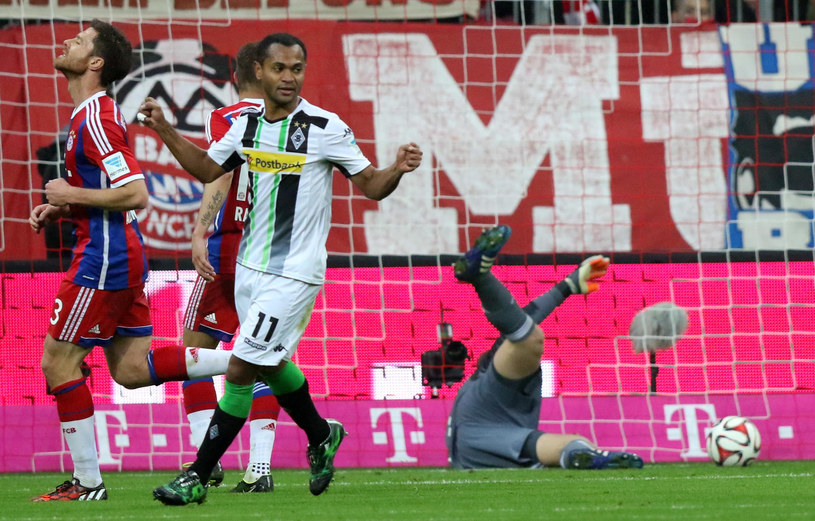 Mecz Bayernu Monachium z Borussią Mönchengladbach /Peter Schatz /Newspix