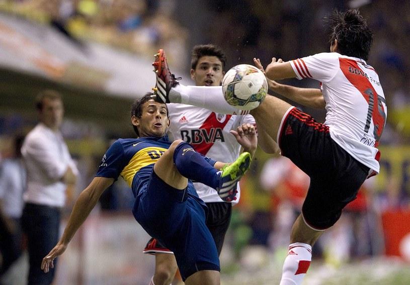 Mecz Boca Juniors kontra River Plate /AFP