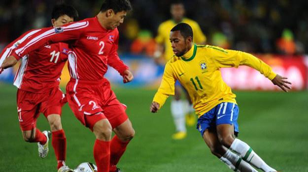 Mecz Brazylia-Korea Północna cieszył się jak dotąd największą popularnością wśród polskich widzów /AFP