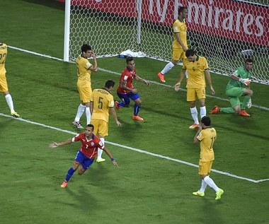 Mecz Chile - Australia 3-1 na MŚ 2014