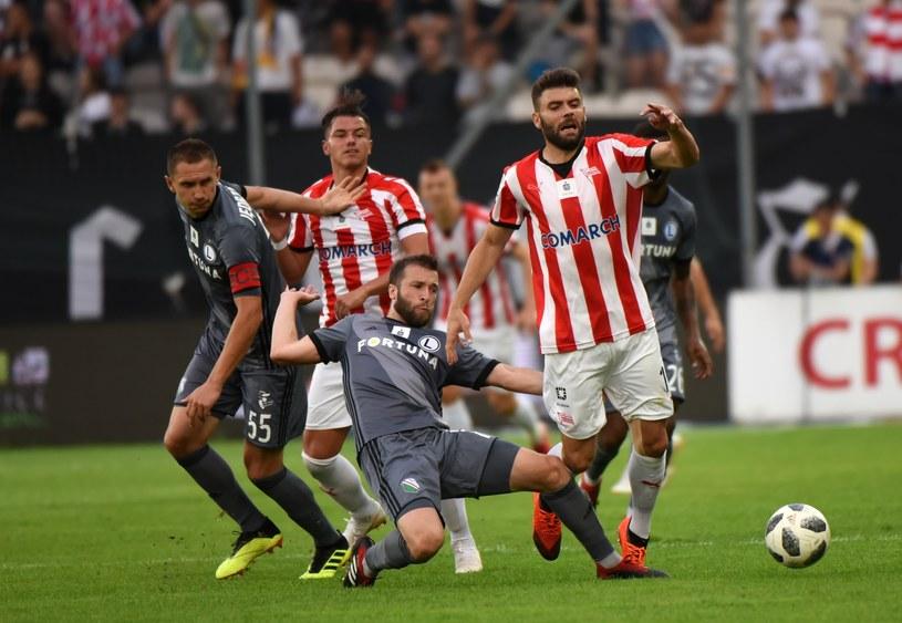 Mecz Cracovii z Legią /Marek Lasyk  /East News