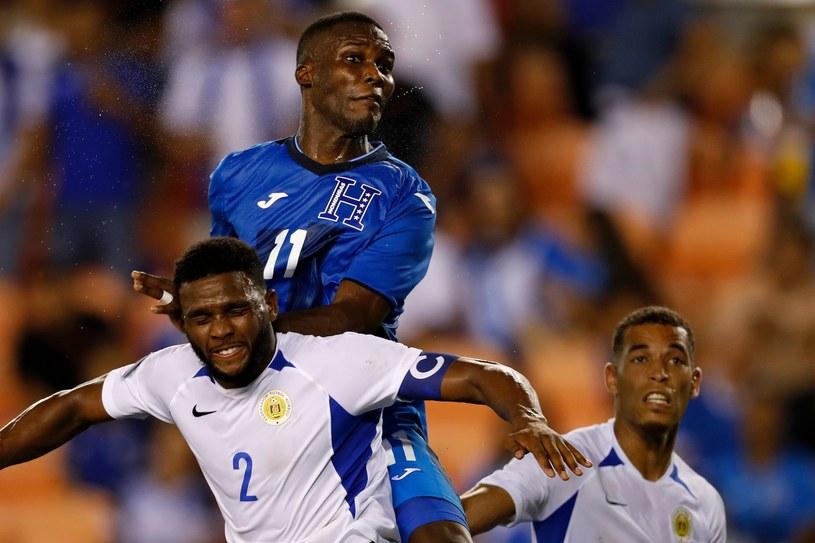 Mecz Curacao - Honduras /AFP