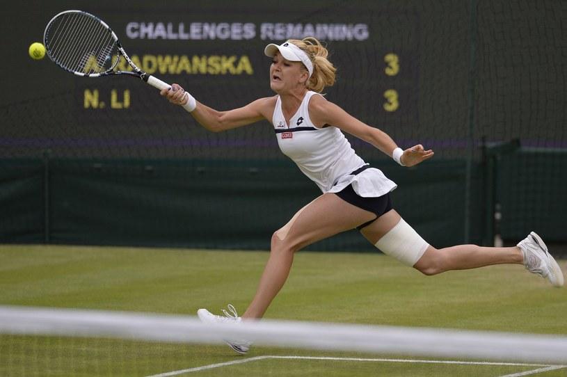 Mecz ćwierćfinałowy Wimbledonu 2013 /AFP