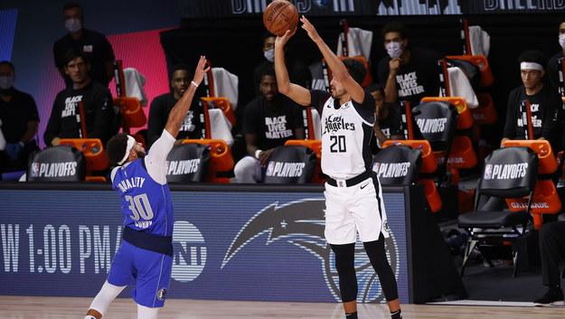 Mecz Dallas Mavericks - Los Angeles Clippers /JOHN G. MABANGLO /PAP/EPA