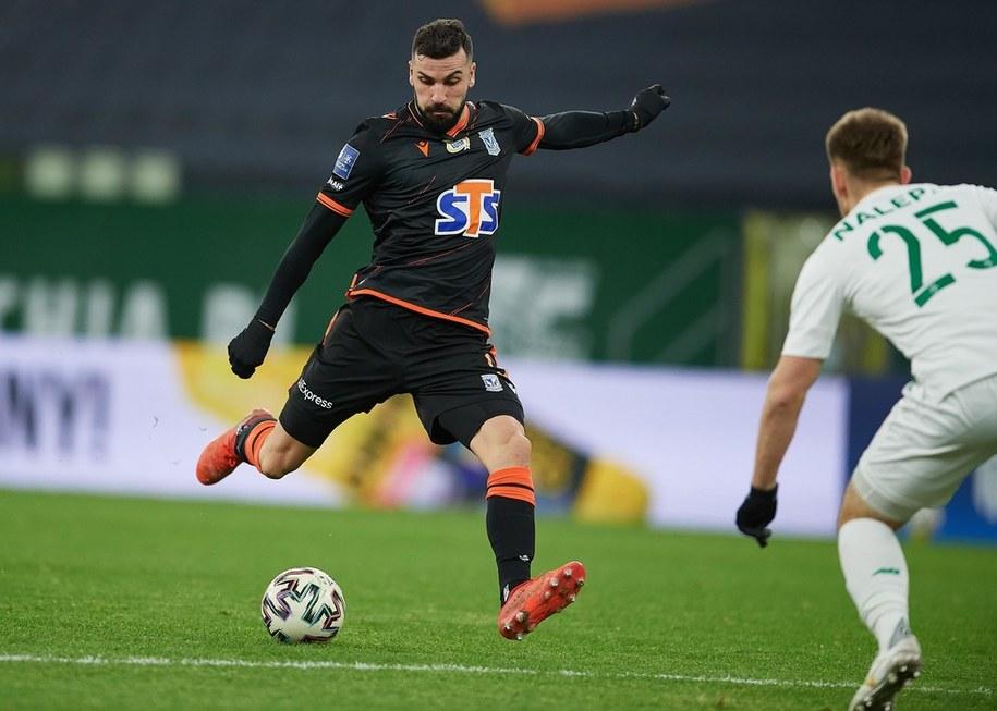 Mecz Ekstraklasy: Lechia Gdańsk - Lech Poznań (30.11) / Adam Warżawa    /PAP