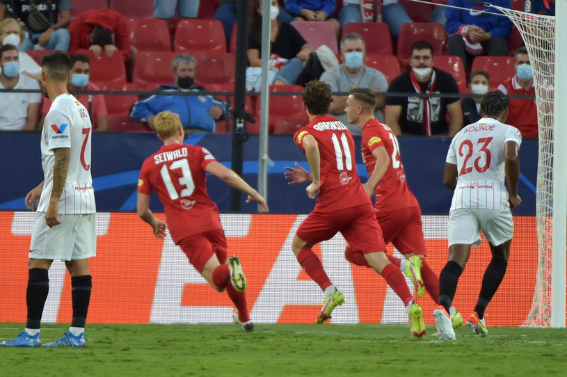 Mecz FC Sewilla - Red Bull Salzburg /CRISTINA QUICLER /AFP