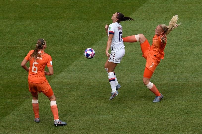 Mecz finałowy mistrzostw świata kobiet USA - Holandia /AFP