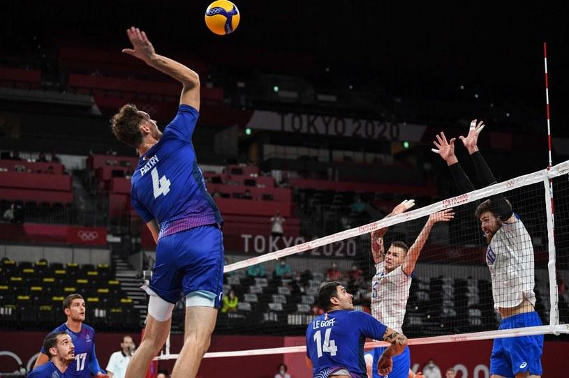 Mecz Francja - Rosyjski Komitet Olimpijski /AFP