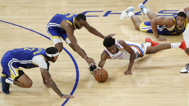 Mecz Golden State Warriors - Oklahoma City Thunder /JOHN G. MABANGLO /PAP/EPA
