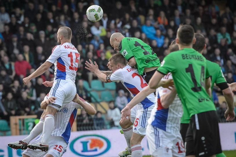 Mecz Górnik Łęczna - Górnik Zabrze był zdecydowanie najsłabszy w 35. kolejce /Wojciech Pacewicz /PAP
