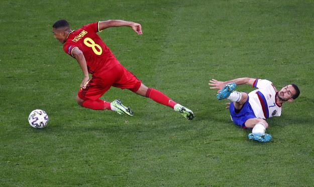 Mecz grupy B: Belgia - Rosja. Wynik: 3-0 /ANTON VAGANOV  /PAP/EPA