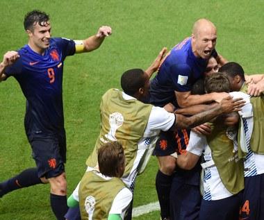 Mecz Hiszpania - Holandia 1-5 na MŚ 2014