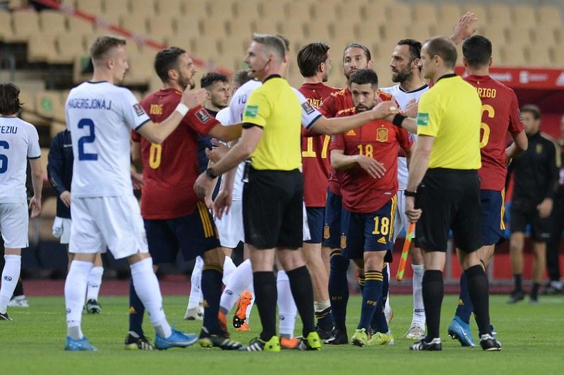 Mecz Hiszpania - Kosowo /AFP/AFP CRISTINA QUICLER/ /AFP