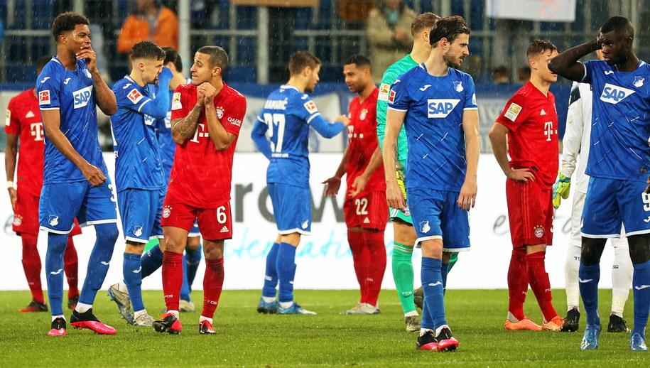 Mecz Hoffenheim - Bayern Monachium /ARMANDO BABANI  /PAP/EPA
