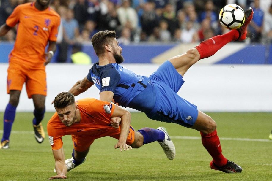 Mecz Holandia - Francja /YOAN VALAT  /PAP/EPA