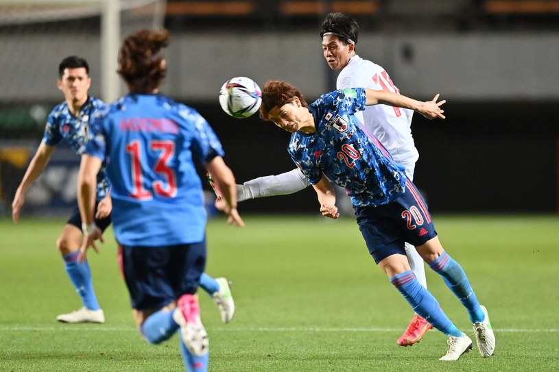 Mecz Japonia - Myamnar /CHARLY TRIBALLEAU / AFP /AFP