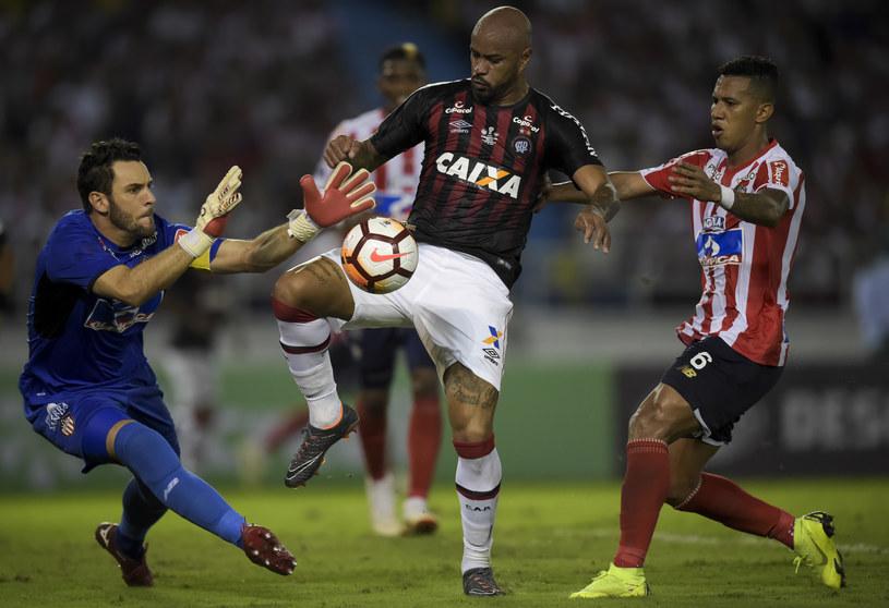 Mecz Junior Barranquilla - Atletico Paranaense /AFP
