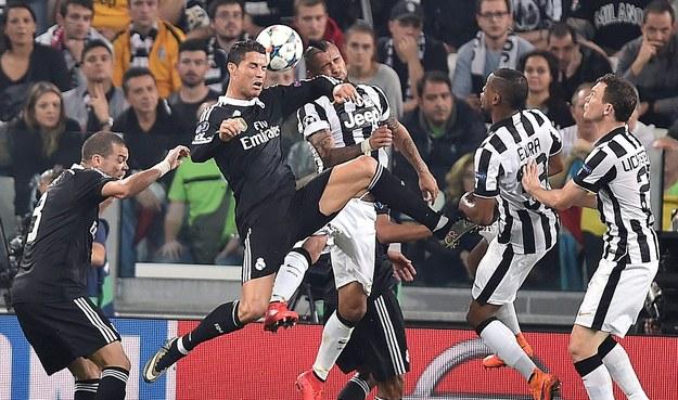 Mecz Juventus Turyn-Real Madryt /ALESSANDRO DI MARCO  /PAP/EPA