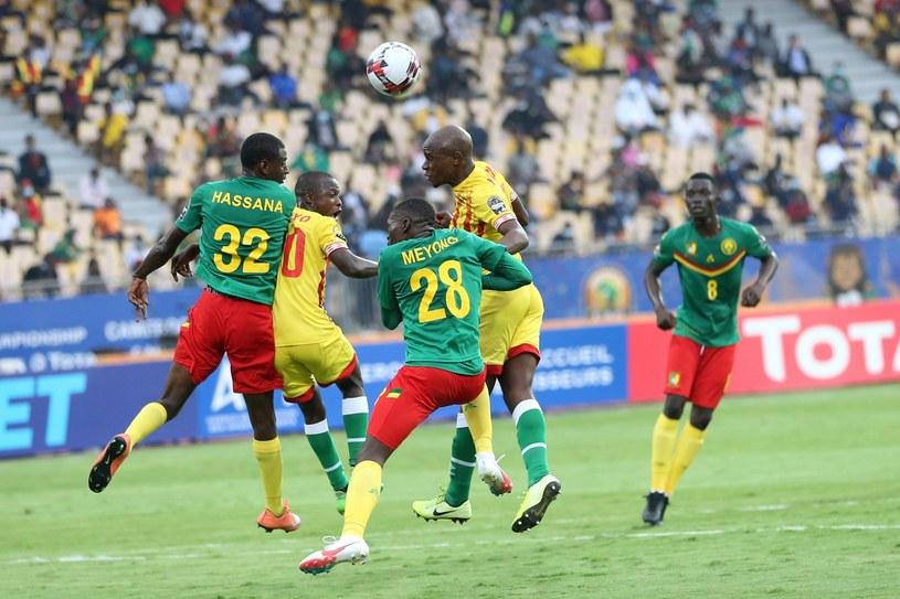 Mecz Kamerun - Zimbabwe na otwarcie Mistrzostw Narodów Afryki /AFP /AFP