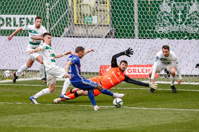 Mecz Lechii Gdańsk z Piastem Gliwice przyniósł sporo emocji /WOJCIECH FIGURSKI / 058sport.pl / NEWSPIX.PL /Newspix