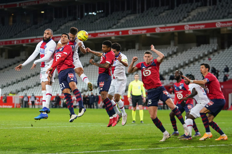 Mecz Lille - PSG /Getty Images